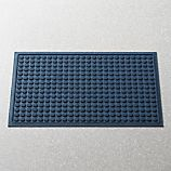 "Thirsty Dots™ Navy 24""x36"" Doormat"