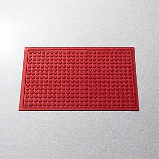 "Thirsty Dots™ Red 24""x36"" Doormat"