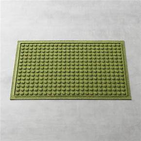 Thirsty Dots Green 34x22 Doormat