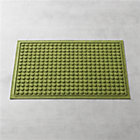 Thirsty Dots ™ Green Doormat.
