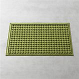 "Thirsty Dots™ Green 34""x22"" Doormat"