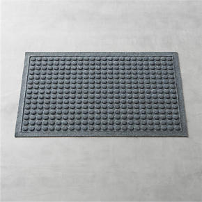 Thirsty Dots Grey 34x22 Doormat