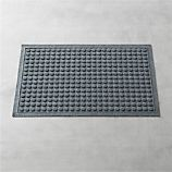 Thirsty Dots Grey 34&quot;x22&quot; Doormat