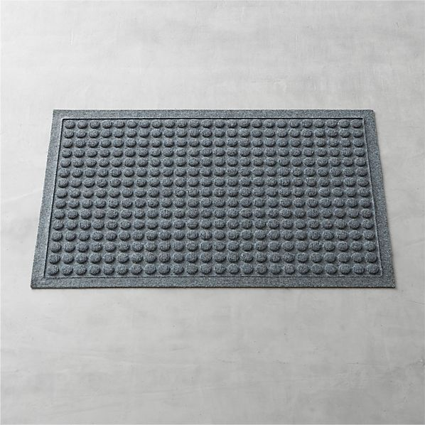 "Thirsty Dots ™ Grey 34""x22"" Doormat"