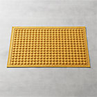 Thirsty Dots™ Saffron Doormat.