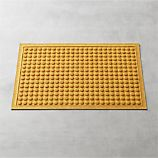 Thirsty Dots Saffron 34&quot;x22&quot; Doormat