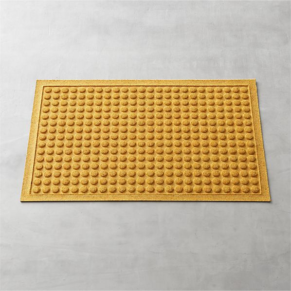 "Thirsty Dots™ Saffron 34""x22"" Doormat"