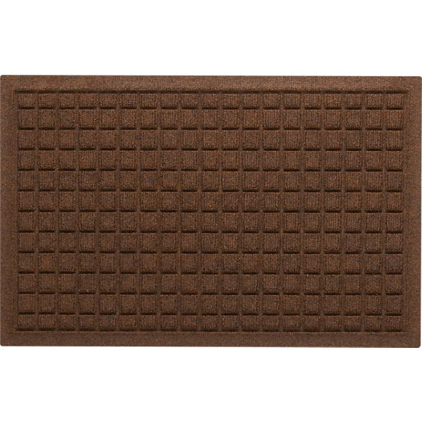"Thirsty Squares ® Brown 18""x28"" Mat"