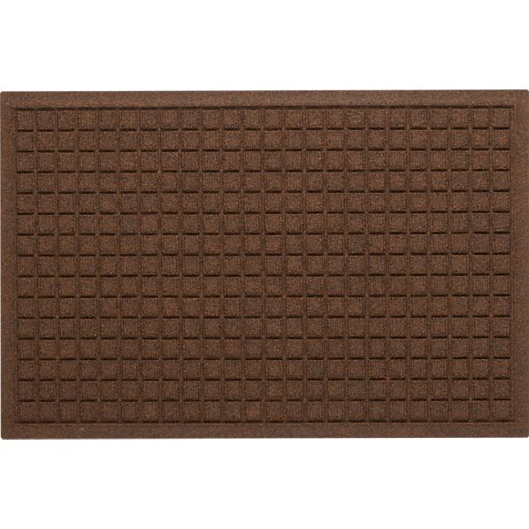 "Thirsty Squares® Brown 22""x34"" Mat"