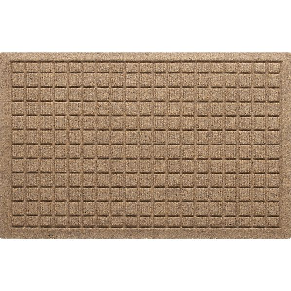 "Thirsty Squares® Natural 28""x18"" Mat"