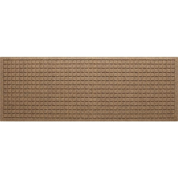 "Thirsty Squares® Natural 21""x58"" Mat"