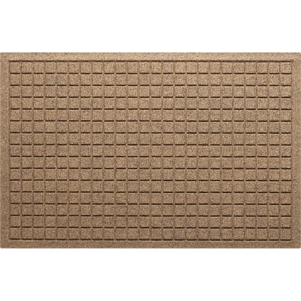 "Thirsty Squares® Natural 22""x34"" Mat"