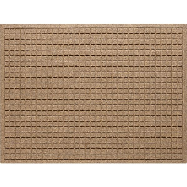 "Thirsty Squares® Natural 35""x46"" Mat"