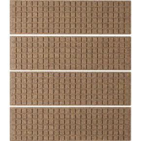 Thirsty Squares Natural Stair Treads Set of Four