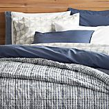 Tiago Stonewash Blue King Duvet Cover