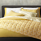 Tiago Stonewash Yellow Twin Duvet Cover.