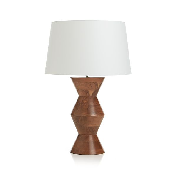 tiago table lamp in table desk lamps crate and barrel. Black Bedroom Furniture Sets. Home Design Ideas