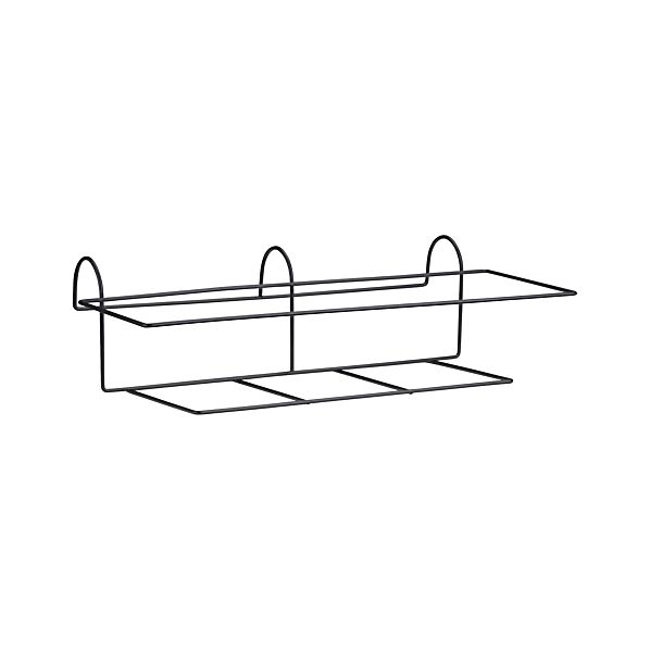 Tidore Rectangular Rail Planter Hook