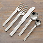 Tiempo 20-Piece Flatware Set: four 5-piece place settings.