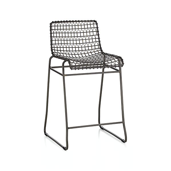 Tig Metal Counter Stool In Bar Stools Crate And Barrel