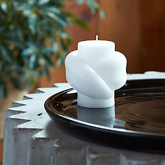 Tiger Knot Short Candle