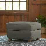 Tiger Ottoman Slipcover Only
