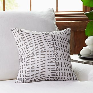 """Tiger Printed 16"""" Pillow with Down-Alternative Insert"""