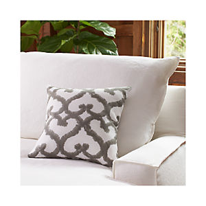"Tiger Trellis Printed 16"" Pillow"