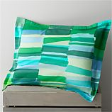 Marimekko Tilkkula Seaglass Standard Pillow Sham