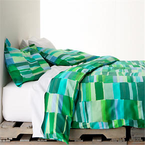Marimekko Tilkkula Seaglass Full-Queen Duvet Cover