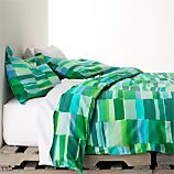 Marimekko Tilkkula Seaglass Bed Linens
