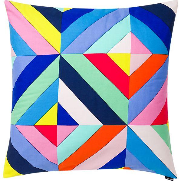 """Marimekko Tilkkutakki 24"""" Pillow"""