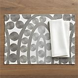 Tilly Placemat and Sateen White Napkin