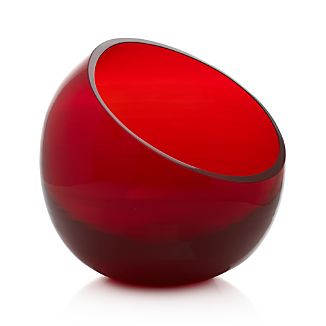"""Tilt Red 7"""" Bowl"""
