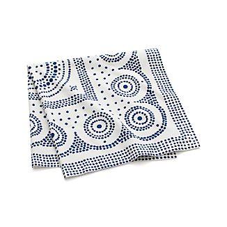 "Tinley Blue 36"" Tablecloth"
