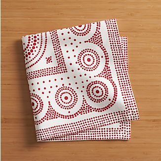 Tinley Red Napkin