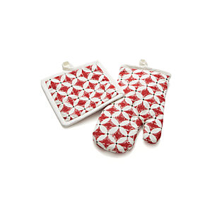 Tivoli Pot Holder and Oven Mitt
