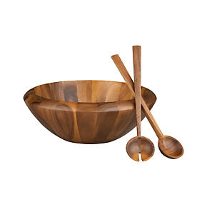 3-Piece Tjorn 17 Serving Bowl and 14 Servers Set