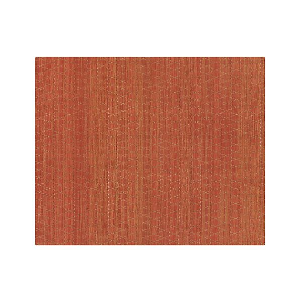 Tochi Coral Orange 8 X10 Rug Crate And Barrel