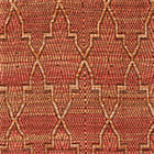 Tochi Coral Orange Rug Swatch.