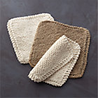 Set of three assorted Toockies® cleaning cloths.
