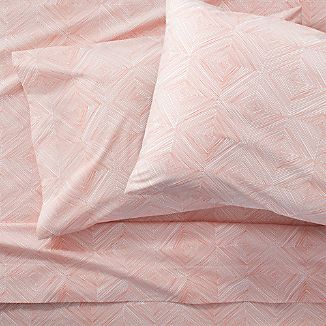 Torben Coral Queen Sheet Set