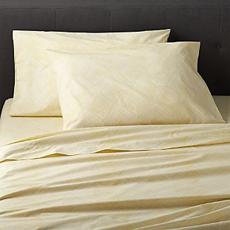 Torben Yellow Full Sheet Set