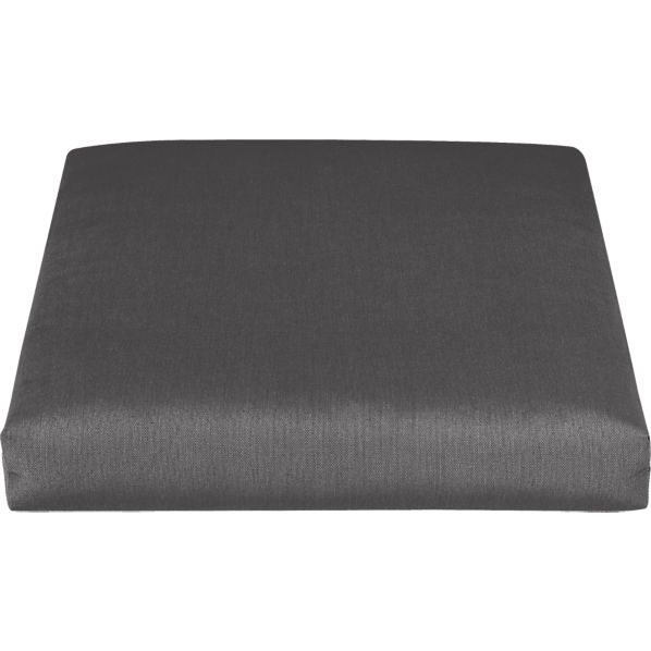 Toulon Sunbrella® Charcoal Lounge Chair Cushion
