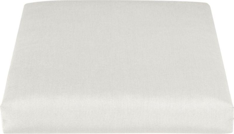 Add extra comfort to our Toulon lounge chair with fade-, water- and mildew-resistant Sunbrella® acrylic cushions in warm white sand.<br /><br /><NEWTAG/><ul><li>Fade- and mildew-resistant Sunbrella® acrylic</li><li>100% polyester fill</li><li>Fabric tab fasteners</li><li>Cover or store inside during inclement weather</li><li>Spot clean</li><li>Made in USA</li></ul>