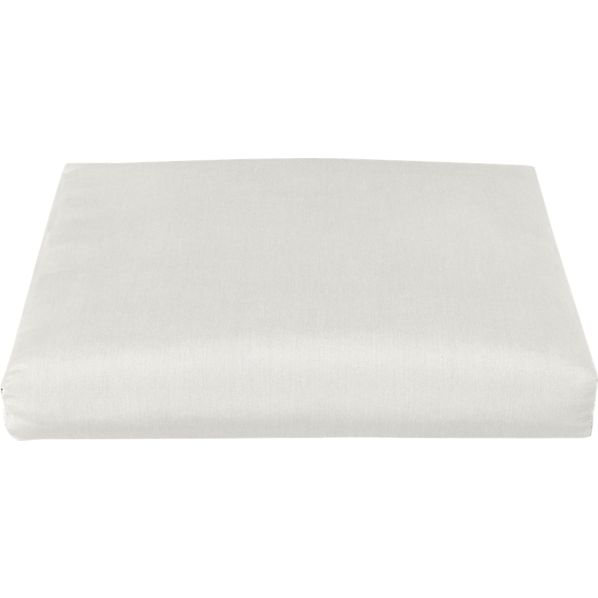 Toulon Sunbrella® White Sand Ottoman Cushion