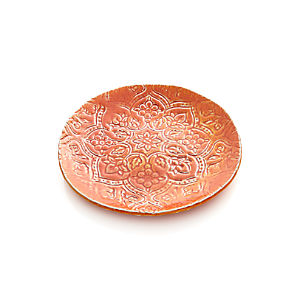 "Jars Toulouse Orange 9.5"" Plate"