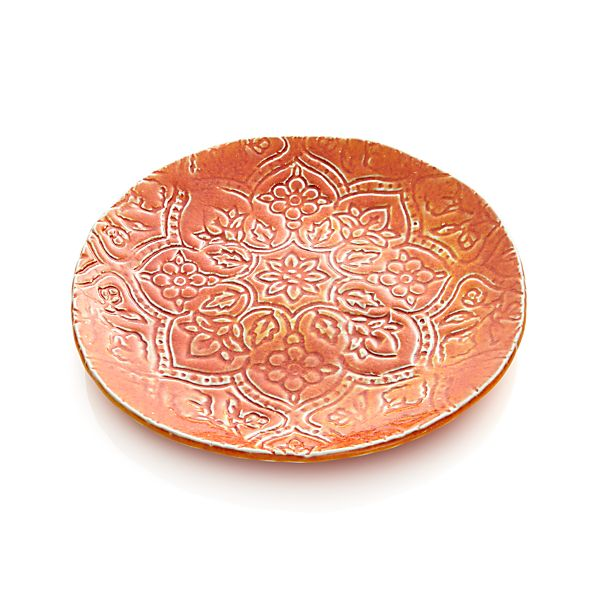 "Toulouse Orange 9.5"" Plate"