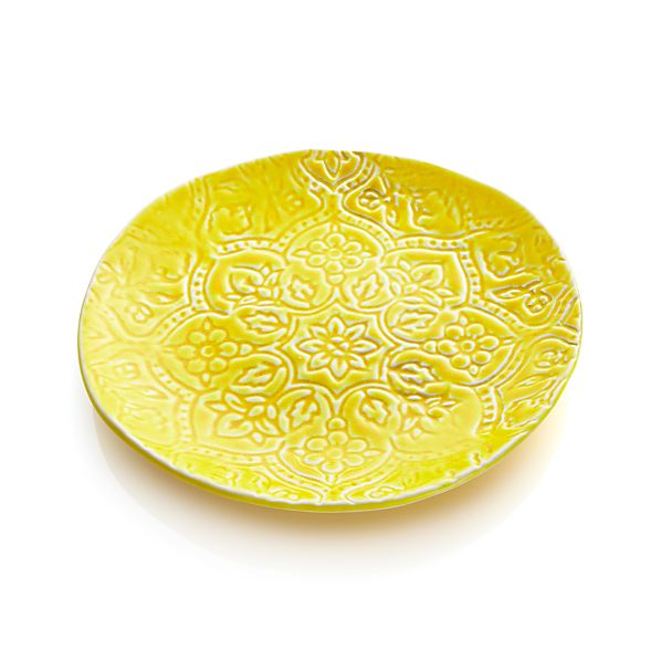 "Toulouse Yellow 9.5"" Plate"