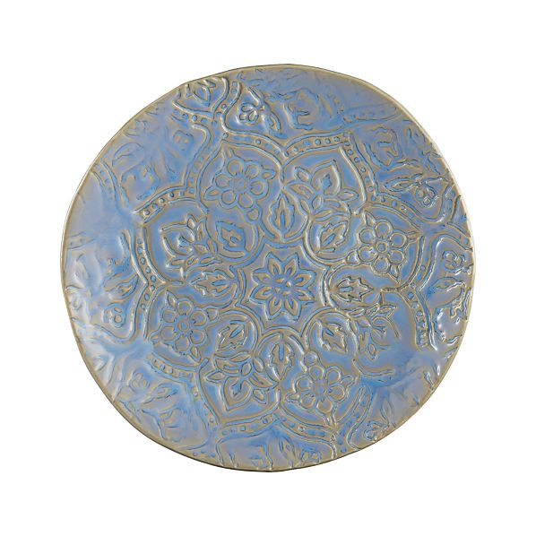 "Toulouse Blue 9.5"" Plate"